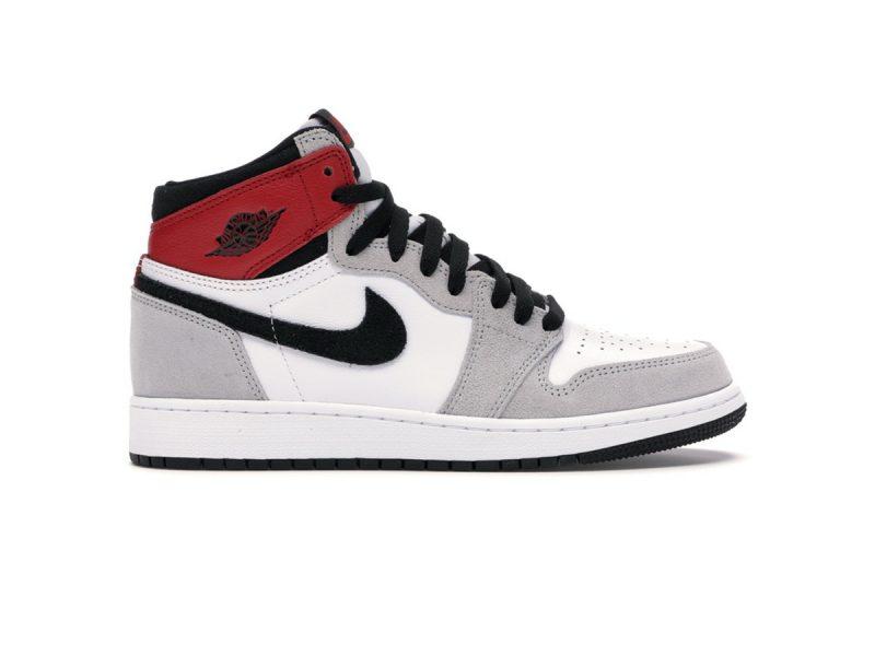 Giày Nike air Jordan 1 High Retro Light Smoke Grey rep