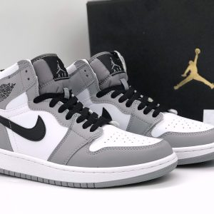 Nike Air Jordan 1 High Light Smoke Grey rep
