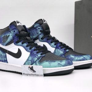 Giày Nike air Jordan 1 High Tie Dye rep