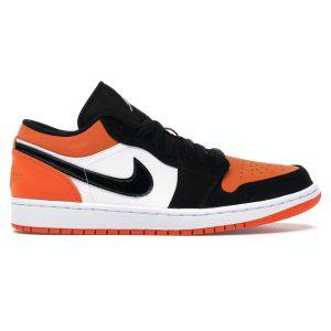 Giày Nike air Jordan 1 Low Cam đen (Shattered Backboard) rep