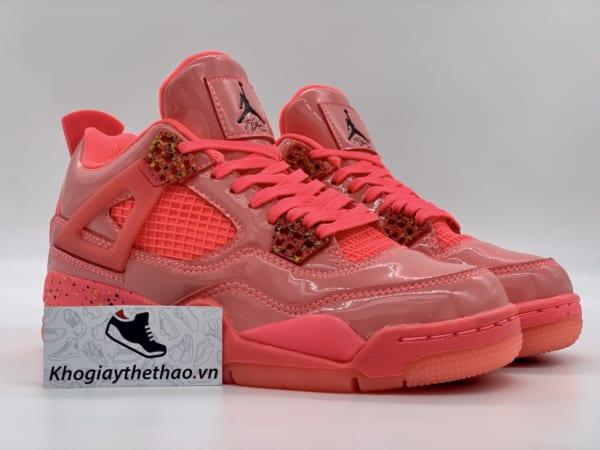 Giày Nike air Jordan 4 Retro Hồng Nữ rep