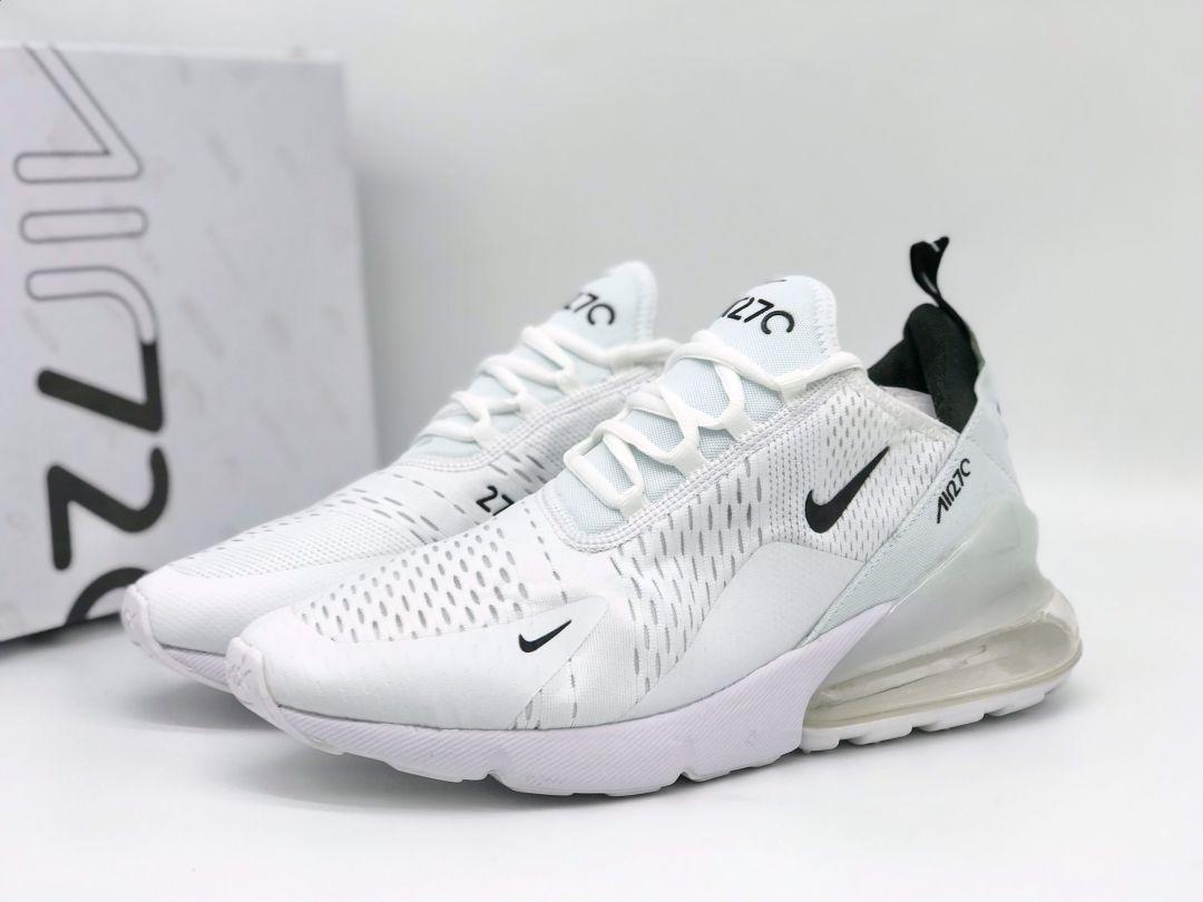 Giày Nike Air Max 270 trắng đen rep
