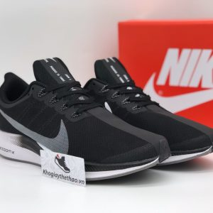 Giày Nike air Zoom Pegasus Turbo 35 Đen rep