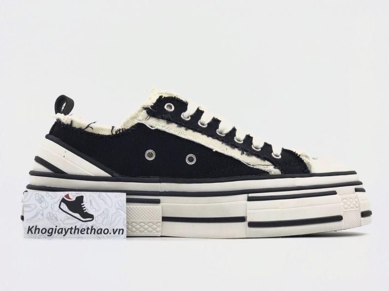 Giày Xvessel G.O.P đen cổ thấp replica