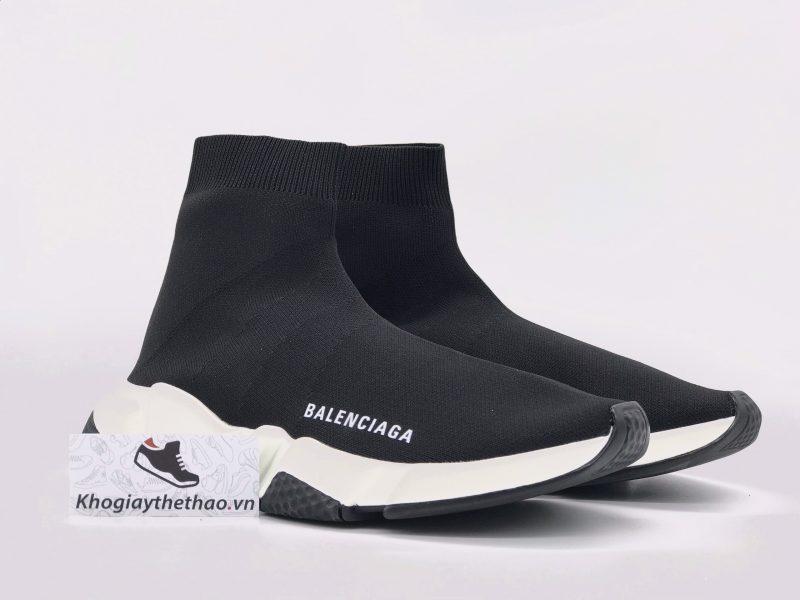 Giày Balenciaga Speed Trainer đế đen Replica