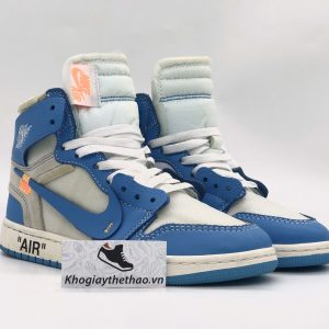 Nike Air Jordan 1 Blue Off White REP