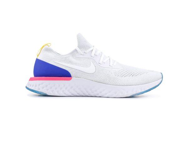 giày Nike Epic React Flyknit trang xanh sf