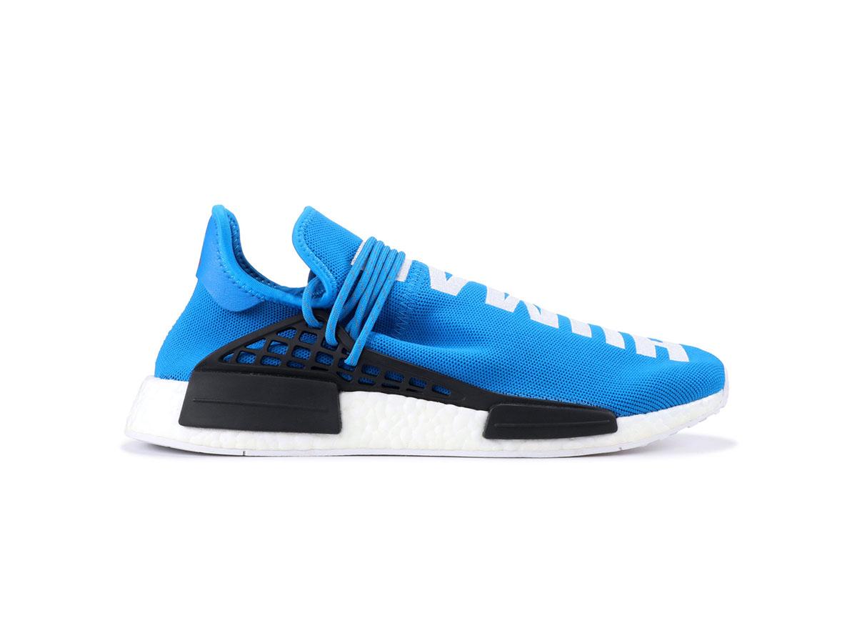 giày adidas human race blue sf