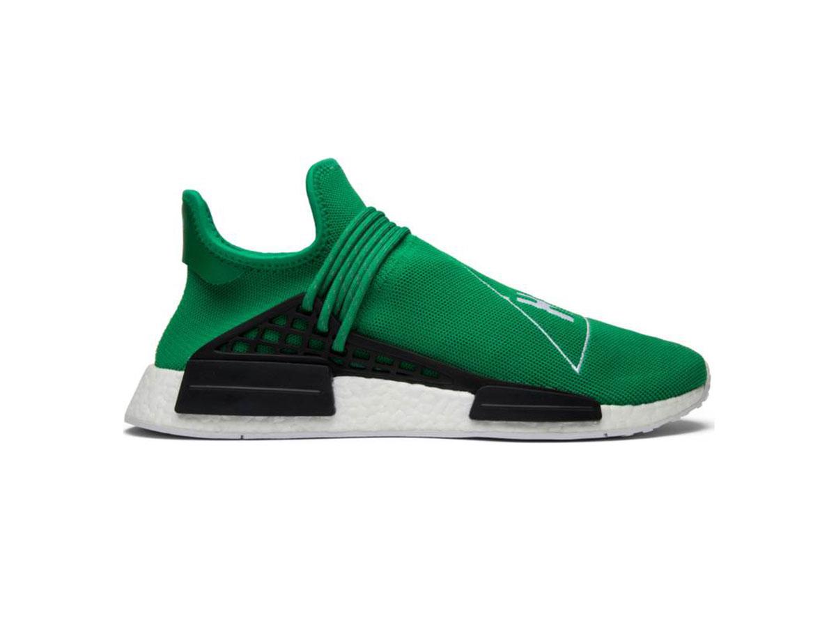 giày adidas human race green sf