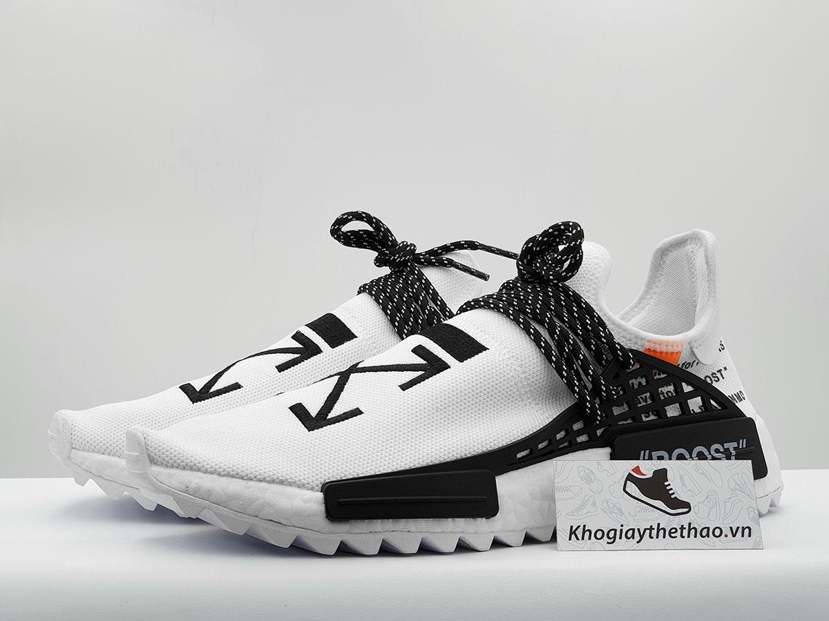 giày adidas human race off white sf