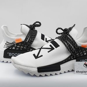 giày adidas human race off white sf