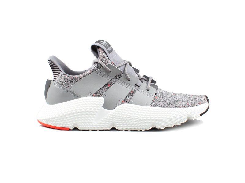 Giày Adidas Prophere xám gót đỏ rep