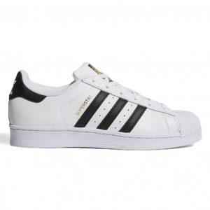 giày adidas superstar trang soc den sf