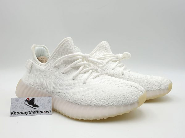 giày adidas yeezy 350 v2 ceam white sf