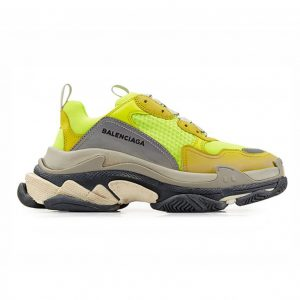 giày balenciaga triple neon yellow green rep