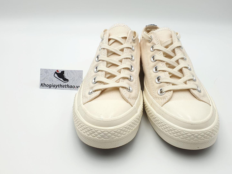 Giày Converse tim trắng thấp cổ REP