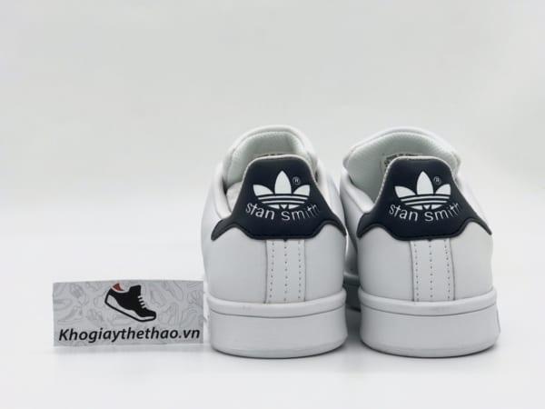 Giày Adidas Stan Smith gót xanh navy REP