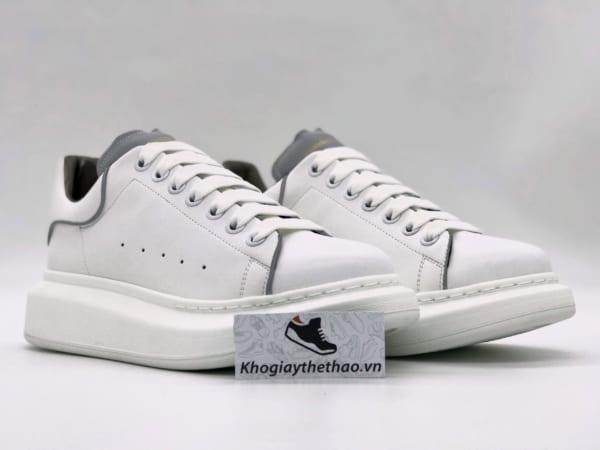 Giày Alexander Mcqueen trắng phản quang rep sf