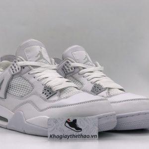 Giày Nike Air Jordan 4 full trắng rep
