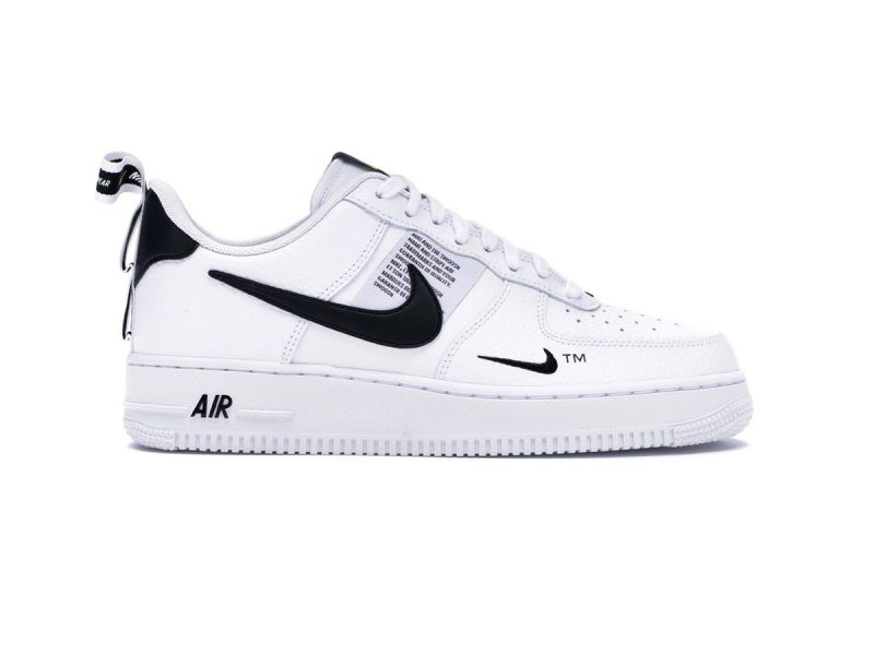 giày nike air force 1 low 07 utility white black sf