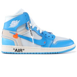 giày nike air jordan 1 off white blue rep