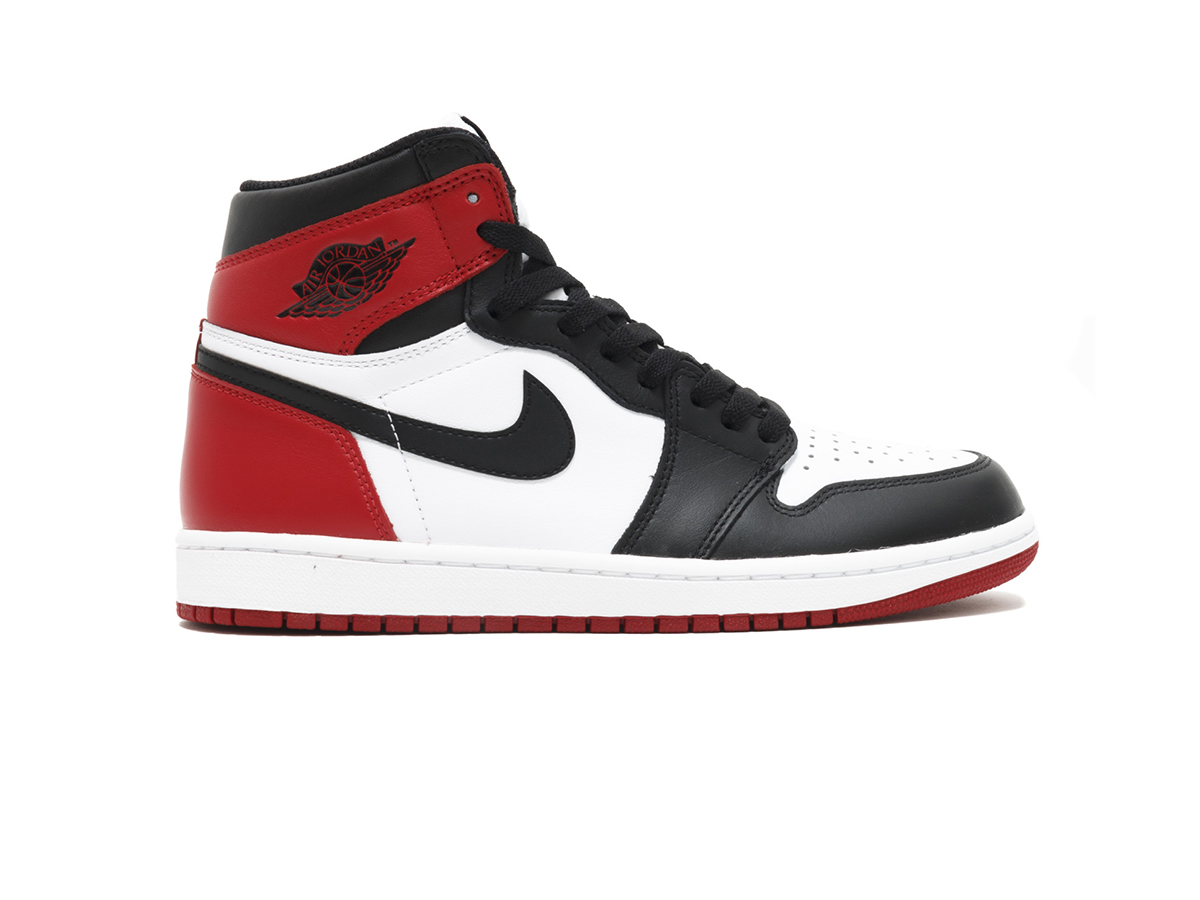 giày nike air jordan 1 retro  black toe sf