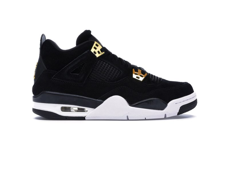giày nike air jordan 4 royalty black sf