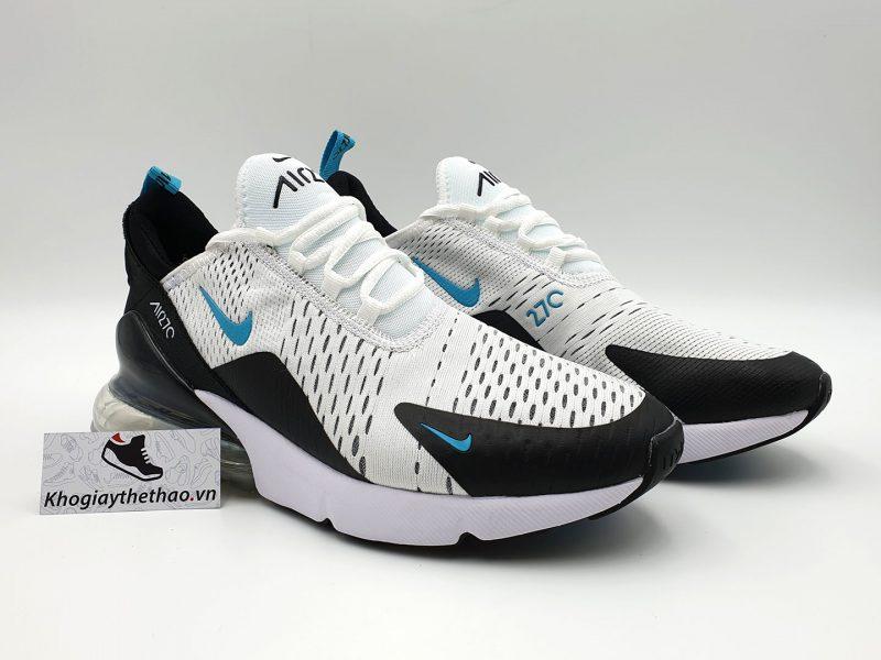 giày nike air max 270 trang de xanh sf