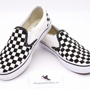 giay vans slip on chekerbroad sf