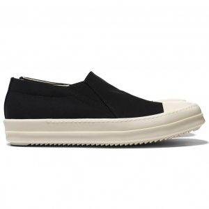 giày rick owen slip on canvas rep