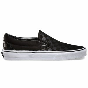 Giày Vans Checkerboard Slip On Classic đen SF