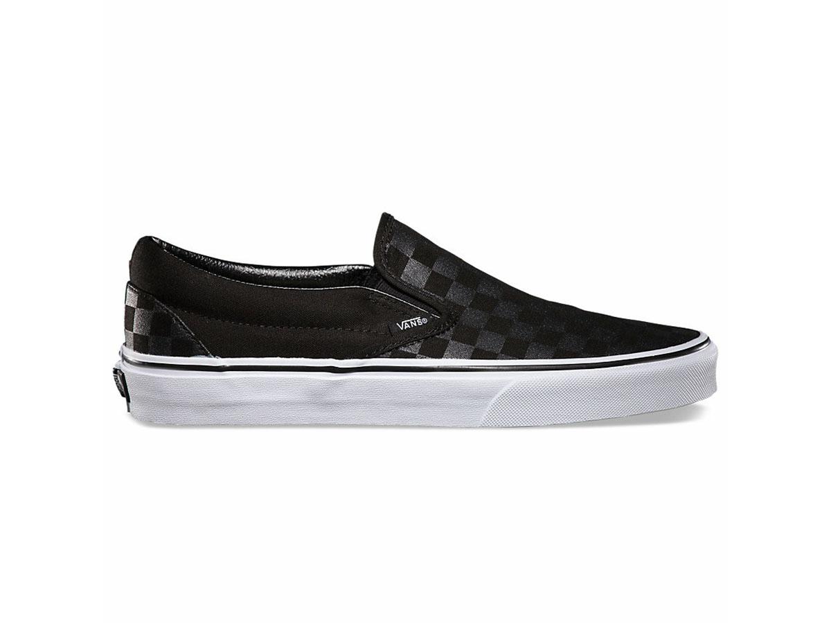 Giày Vans Checkerboard Slip On Classic đen SF