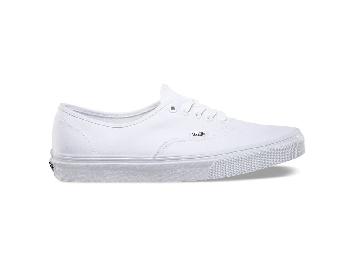Giày Vans Classic Authentic trắng SF