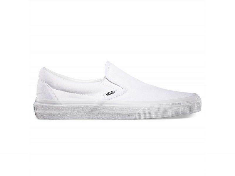 Giày Vans Classic Slip On trắng SF