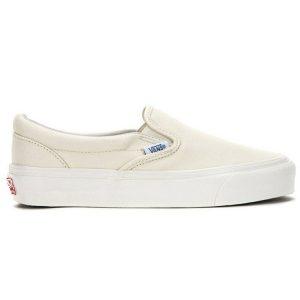 vans vault classic slip on trắng sữa