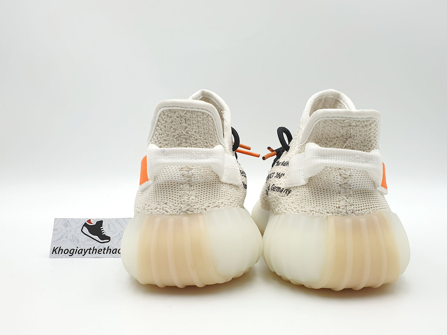 giày adidas yeezy 350 v2 off white sf