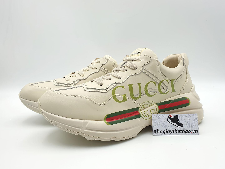 giày gucci chunky rhyton sf