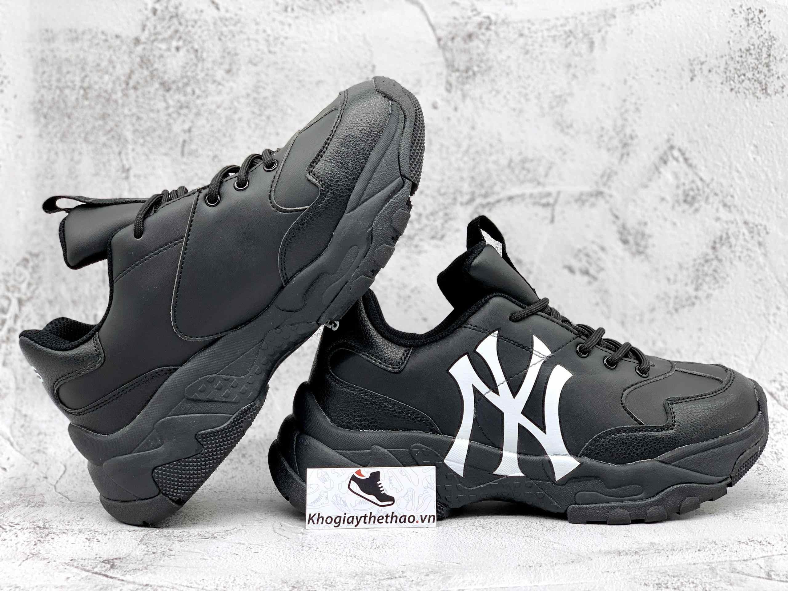 giày mlb korea ny đen