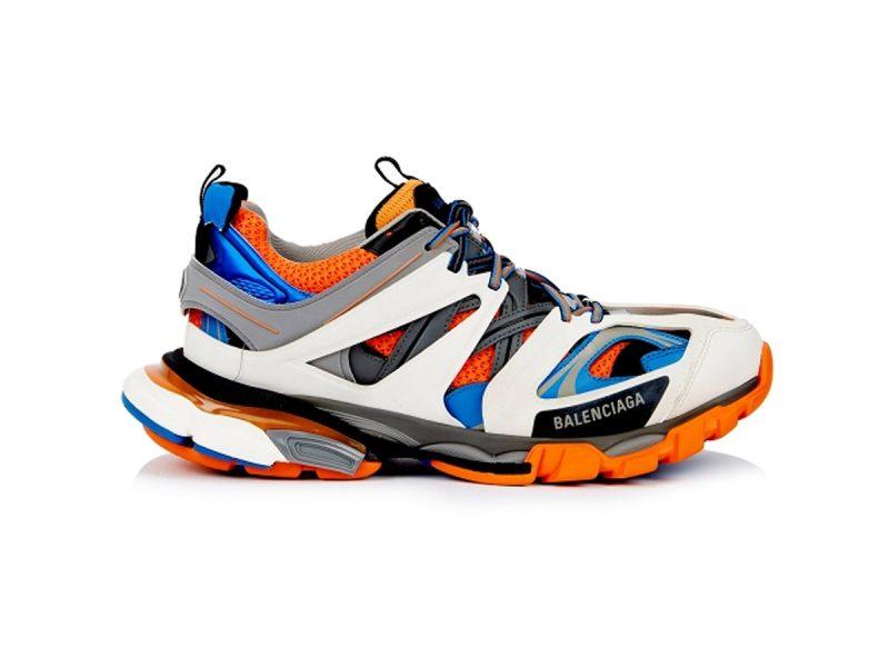 Giày Balenciaga Track 3.0 cam xanh replica - khogiaythethaovn