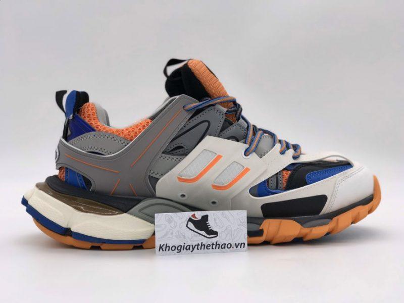 Giày Balenciaga Track 3.0 cam xanh replica