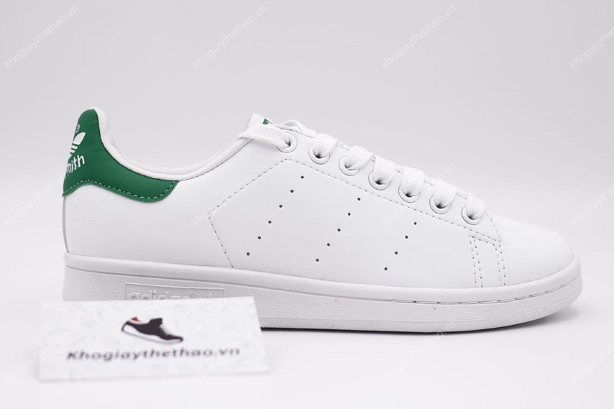 Giày Adidas Stan Smith gót xanh sf