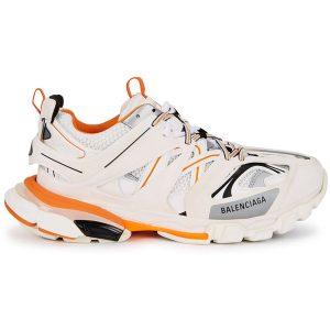 Giày Balenciaga Track 3.0 trắng cam Replica - khogiaythethaovn