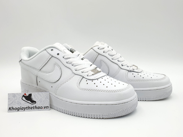 nike air force 1 full trắng