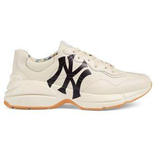 Giày Gucci Chunky NY trắng chữ đen Replica - khogiaythethaovn