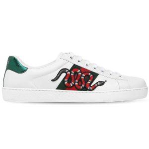 Giày Gucci Rắn Replica - khogiaythethaovn