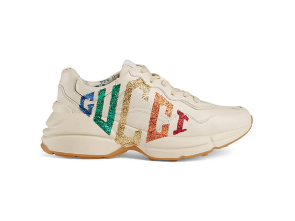 Giày Gucci Chunky logo cầu vồng replica - khogiaythethaovn