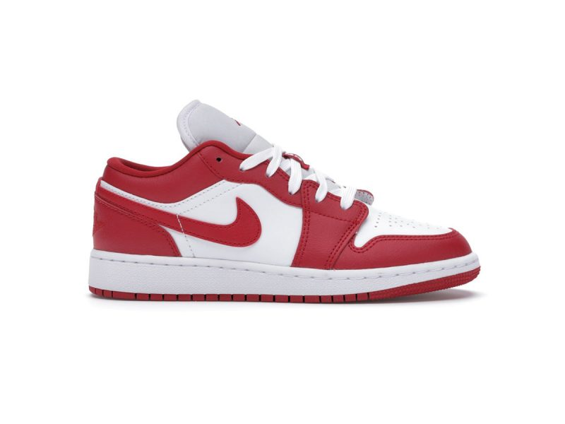 Giày Nike air Jordan 1 Gym Red White Low rep