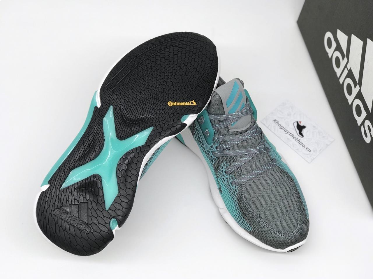 Giày Adidas Alphabounce Instinct M xám xanh rep