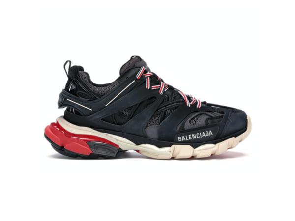 Giày Balencia Track 3.0 Đen Đỏ rep