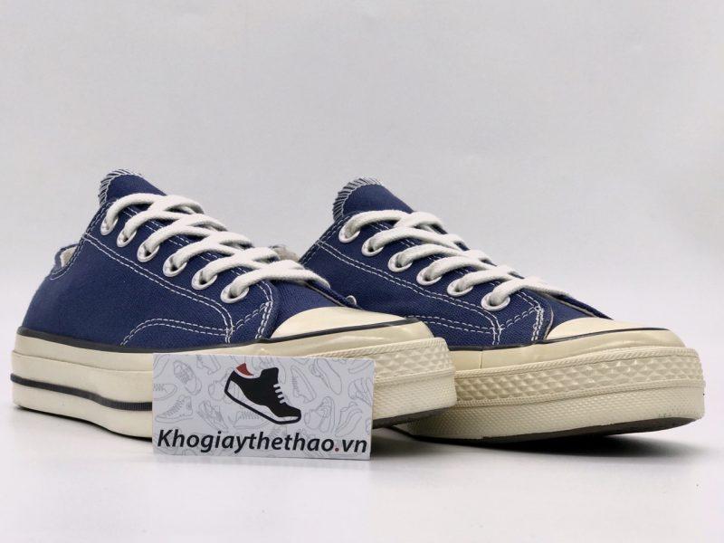 Giày Converse 1970s xanh navy thấp cổ rep